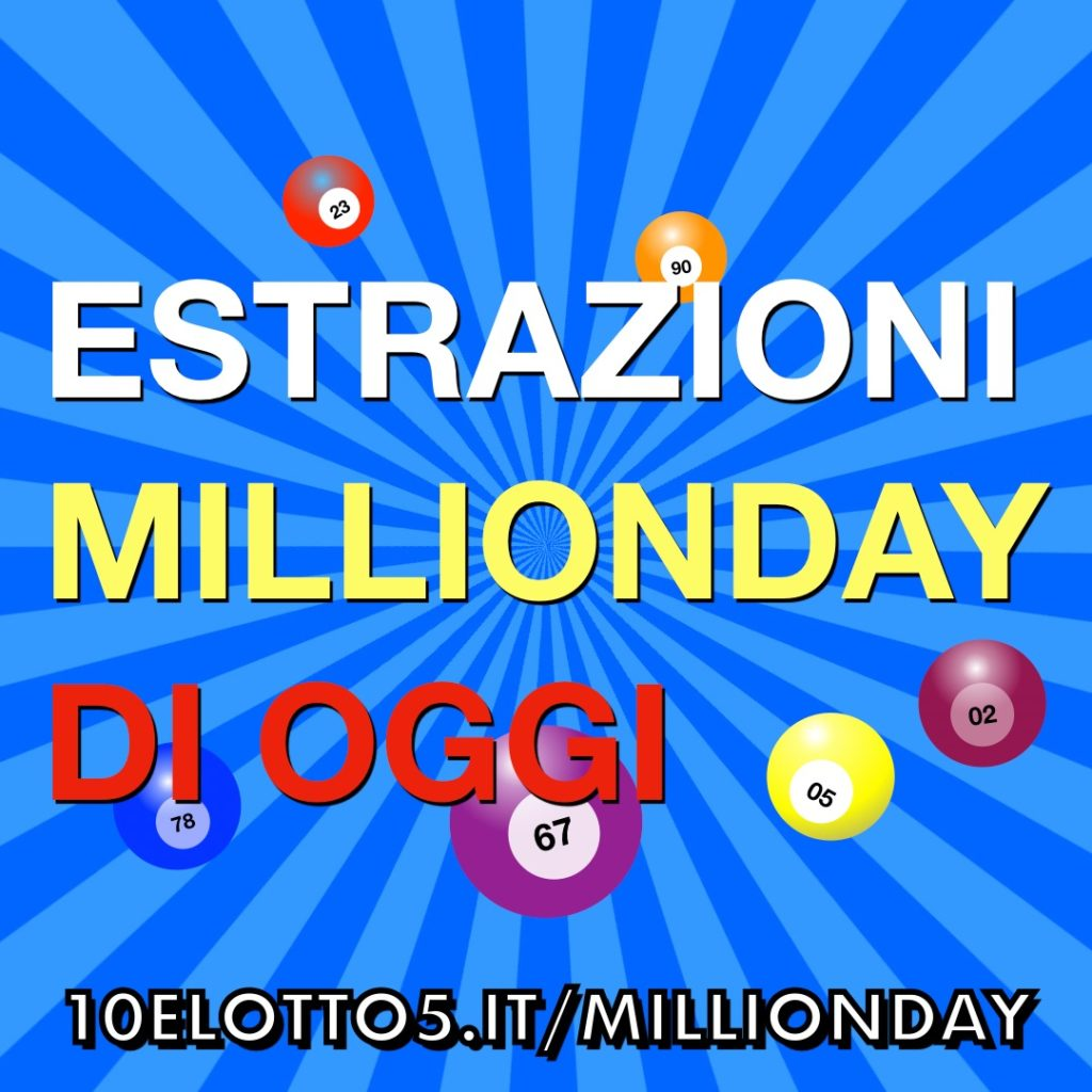 VIDEO MILLIONDAY 08-11-2019